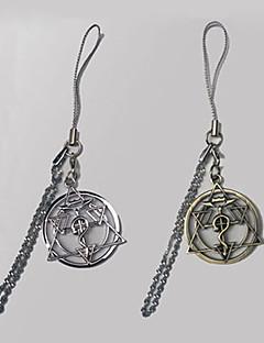 Smykker Inspirert av Helmetall Alkemist Edward Elric Anime Cosplay Tilbehør Halskjede Gull / Sølv Legering Mann