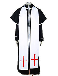 cheap Halloween & Carnival Costumes-Missionary Cosplay Costume Party Costume Men's Halloween Festival / Holiday Halloween Costumes Black Patchwork