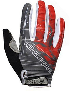 AUTHENTIC Handcrew Men's Cycling Gloves Full Finger Professional GEL Bicycle Cycling Gloves