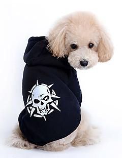 povoljno -Pas Hoodies Odjeća za psa Moda Lubanje Kostim Za kućne ljubimce