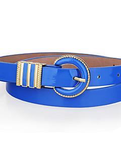 Candy Color Skinny Belt
