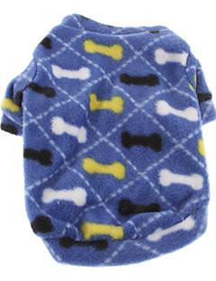 犬 スウェットシャツ 犬用ウェア キュート カジュアル/普段着 ボーン ブルー