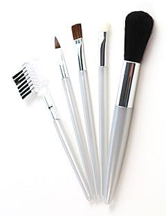 billige Sminkebørstesett-5pcs Makeup børster Profesjonell Børstesett Geitehår børste / Andre / Andre Børste Klassisk / Liten børste