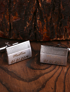 Χαμηλού Κόστους Cufflinks-Ψευδάργυρο κράμα Χειροπέδες & Κλιπ Γραβάτας Γαμπρός Κουμπάρος Γάμου Επέτειος Γενέθλια Συγχαρητήρια Επιχείρηση