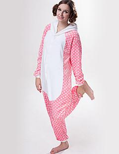 Kigurumi Pyjamas Kat Kostume Kigurumi Trikot / Heldraktskostymer Cosplay Festival / høytid Pysjamas med dyremotiv Halloween Lapper Til
