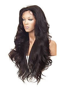 "26 ""100% Human Hair Celebrity Brasilianske Hair Front Lace Wig"