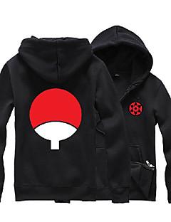 """Inspirert av Naruto Sasuke Uchiha Anime  """"Cosplay-kostymer"""" Cosplay gensere Trykt mønster Langermet Topp Til Unisex"""