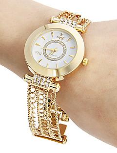 billige Armbåndsure-Dame Armbåndsur Japansk Hul Indgravering Kobber Bånd Glitrende / Afslappet / Elegant Guld