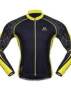 Mysenlan Jerseu Cycling Pentru bărbați Mânecă Lungă Bicicletă Jerseu Topuri Keep Warm Uscare rapidă Rezistent la Vânt Purtabil Respirabil