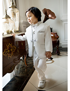 Polyester/Pamuk Karışımı Yüzük Taşıyıcısı Takımı - 5 Parçalar Kapsar Ceket / Gömlek / Yelek / Pantolonlar / Papyon