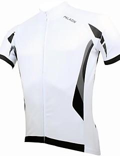 baratos Total Promoção Limpa Estoque-ILPALADINO Camisa para Ciclismo Homens Manga Curta Moto Camisa/Roupas Para Esporte Blusas Secagem Rápida Resistente Raios Ultravioleta