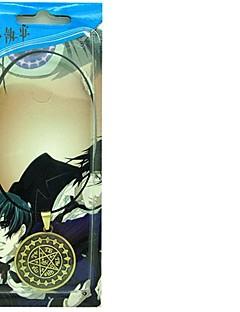Smykker Inspirert av Svart Butler Cosplay Anime Cosplay Tilbehør Halskjede Gull Legering Mann