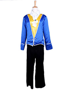 billige Halloweenkostymer-Prinsesse Eventyr Cosplay Kostumer Party-kostyme Herre Halloween Karneval Festival / høytid Halloween-kostymer Drakter Lapper