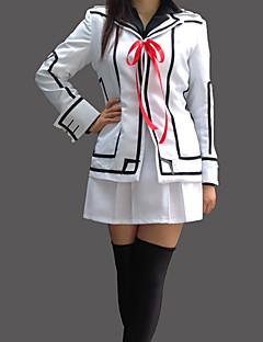 """billige Anime cosplay-Inspirert av Vampyr Ridder Luca Souen Anime  """"Cosplay-kostymer"""" Cosplay Klær Skoleuniformer Lapper Langermet Frakk Trøye Skjørte Armbind"""