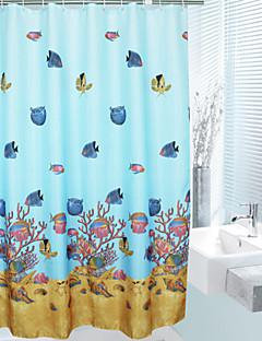 tanie Zasłony prysznicowe-Zasłony prysznicowe Nowoczesny Poliester Nowość Machine Made