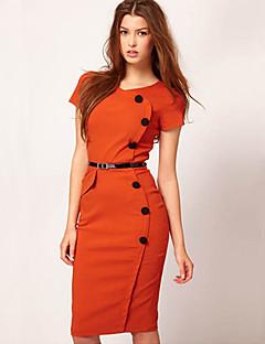 Monta western style moda napadu na hip sukienka z przyciskiem