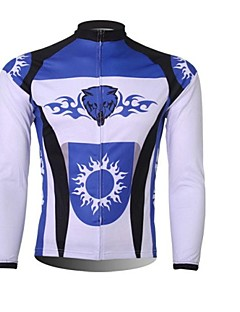 cheap Cycling Jackets-XINTOWN Men's Cycling Jacket Bike Top Thermal / Warm, Quick Dry, Ultraviolet Resistant Bike Wear