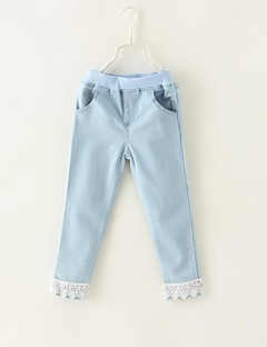 Solid Jeans,Cotton Winter Spring Fall Screen Color