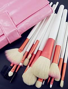 billige Sminkebørstesett-18 Børstesett Geitehår børste / Syntetisk hår / Nylon Børste / Andre Ansikt / Lip / Øye Andre