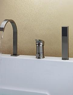 billige Foss-Badekarskran - Moderne Nikkel Børstet Badekar Og Dusj Keramisk Ventil