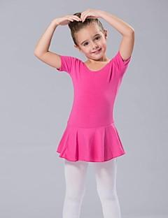 tanie Dziecięca odzież do tańca-Dziecięca odzież do tańca / Balet Sukienki Damskie Spandeks Krótkie rękawy