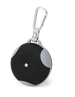 billige Bluetooth høytalere-Utendørs Bluetooth Bærbar Trådløs Bluetooth 2.1 3,5 mm AUX Høyttaler til utendørsbruk Svart Rød Grønn