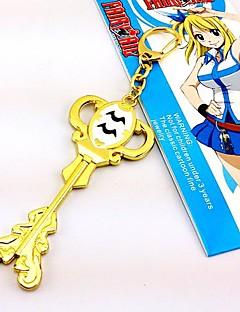 billige Anime Cosplay Tilbehør-Smykker Inspirert av Eventyr Cosplay Anime Cosplay Tilbehør Halskjede Gull Legering Kvinnelig