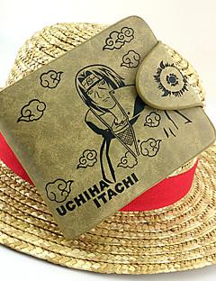 billige Anime cosplay-Veske / Lommebøker Inspirert av Naruto Itachi Uchiha Anime Cosplay-tilbehør Lommebok PU Leather / Lær Herre