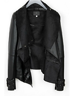 emma kvinners jakkeslaget halsen Bodycon occidental stil frakk