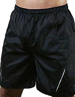 Realtoo Sykkelshorts Herre Dame Unisex Sykkel Hengende Shorts Shorts Bunner Sykkelklær Fort Tørring Pustende Ensfarget Sykling/Sykkel