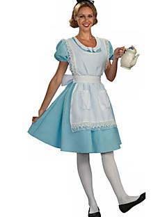 Stuepike Kostumer Cosplay Kostumer Party-kostyme Kvinnelig Halloween Karneval Festival/høytid Halloween-kostymer Grønn Lapper