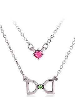 Cousri Women'S Korean Cubic Zirconia Necklace