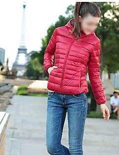 TnL женская мода с длинным рукавом балахон случайные хлопка пальто
