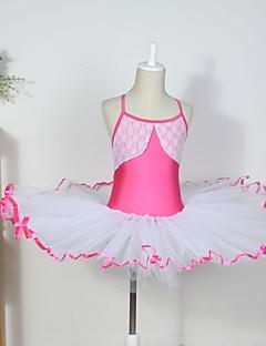 tanie Dziecięca odzież do tańca-Dziecięca odzież do tańca / Balet Sukienki Bawełna / Spandeks / Tiul Bez rękawów