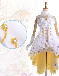 """billige Anime Kostymer-Inspirert av Elsker live Honoka Kōsaka Anime  """"Cosplay-kostymer"""" Kjoler Lapper Ermeløs Kjole Krage Hansker Beinvarmere Mer Tilbehør Til"""