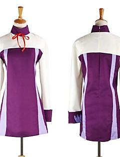 に触発さ Fairy Tail アニメ系 コスプレ衣装 ドレス パッチワーク 長袖 ドレス 用途 女性用