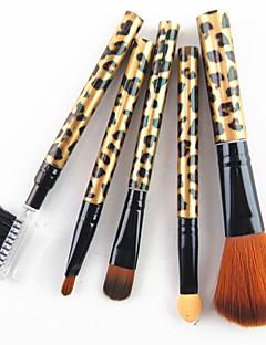 cheap Makeup Brushes-5 Makeup Brush Set Synthetic Hair Professional Plastic Face Mascara EyeShadow Highlighter Concealer Powder Foundation Lip