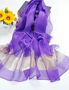 ショールシルク/ポリエステルソリッドカラーのカジュアル/結婚式ショール/スカーフ(もっと色)
