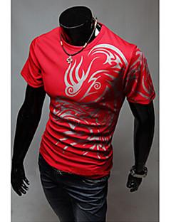 Neformalan Kratke majice - MEN - Krug - Kratki rukav ( Pamuk Blend )