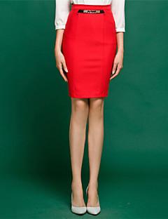 באורך ברך - בינוני - סגנון - חצאית ( סריגה רומית/פוליאסטר )