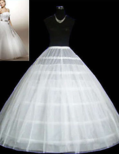 Wedding Special Occasion Slips Tulle Netting Floor-length Ball Gown Slip With