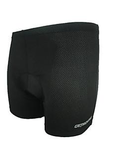 זול בגדי רכיבת אופניים-GETMOVING בגדי ריקוד גברים / בגדי ריקוד נשים / יוניסקס תחתוניות לרכיבה אופניים מכנסיים קצרים / אימונית / תחתונים ייבוש מהיר, עיצוב / נושם
