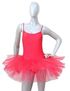 tanie Stroje baletowe-Balet Tutus i spódnice Damskie Dla dzieci Wydajność Nylon Tiul Lycra 1 sztuka Ubierać