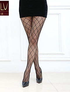 billige Sokker og strømper til damer-Dame Strømpebukse-Geometrisk Normal