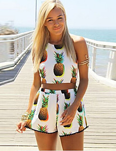 KamierWomen's Sexy/Beach/Casual/Party Sleeveless Suits (Cotton)