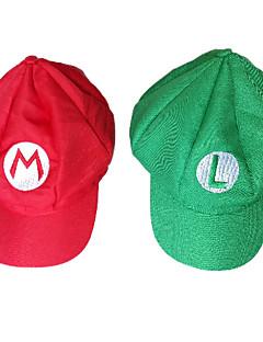 Pălării/Căciuli Halloween Carnaval Festival/Sărbătoare Costume de Halloween Roșu Verde