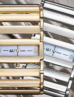 Χαμηλού Κόστους ASJ®-ASJ Γυναικεία Ρολόι Καρπού Εσωτερικού Μηχανισμού κράμα Μπάντα Αναλογικό Βραχιόλι Ασημί / Χρυσό - Ασημί Χρυσαφί Ενας χρόνος Διάρκεια Ζωής Μπαταρίας / SSUO SR626SW