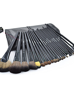 billige Sminkebørstesett-32pcs Makeup børster Profesjonell Børstesett Geitehår børste / Nylon Børste / Syntetisk hår Reisen Stor Børste / Middels børste / Liten