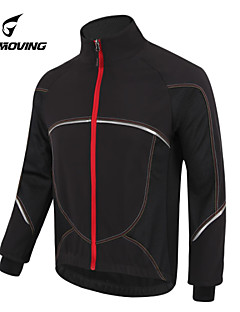 GETMOVING Sykkeljakke Sykkel Sommer Fleecejakker / Fleecer Jersey Topper Unisex Vanntett Anatomisk design Fleecefor Regn-sikker Forside