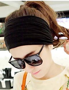 Women Han Editio Cotton Yoga Wide-brimmed Elastic Wash Facial Mask Headband